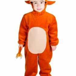 Stier carnavalsoutfit kleding kinderen