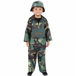 Stoer leger carnavalsoutfit kleding kinderen