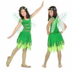 Toverfee/elfje fay verkleed carnavalsoutfit/jurkje kleding meisjes