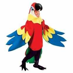 Verkleedkleding papegaai carnavalsoutfit kleding volwassenen