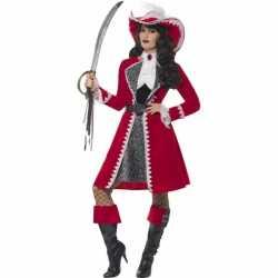 Verkleedkleding piraat kapitein carnavalsoutfit kleding dames