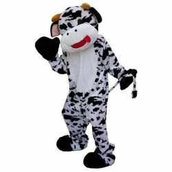 Verkleedkleding pluche koe carnavalsoutfit