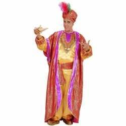 Verkleedkleding sultan carnavalsoutfit kleding mannen