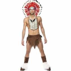 Village People Indian carnavalsoutfit