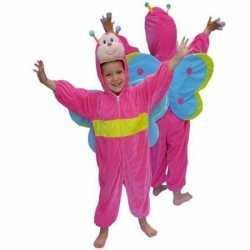 Vlinder carnavalsoutfit kleding kinderen