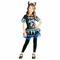 Weerwolf verkleedcarnavalsoutfit kleding meisjes weerwolvenpak