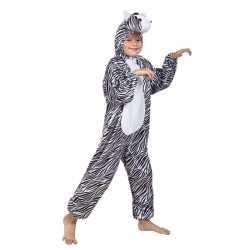 Zebra carnavalsoutfit kleding kinderen
