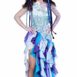 Zeemeermin carnavalsoutfit kleding dames